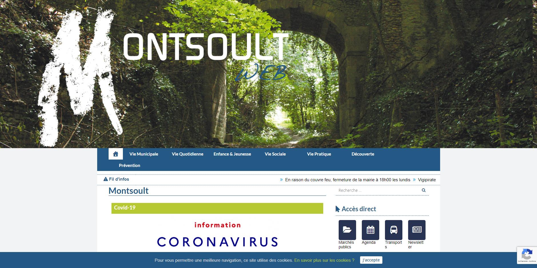 site de Montsoult