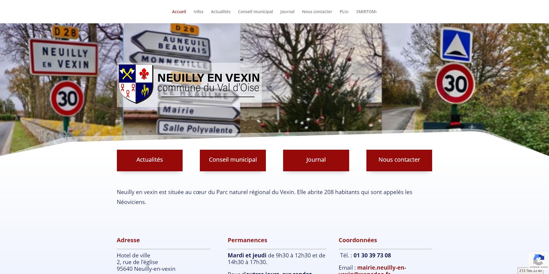site de Neuilly en vexin