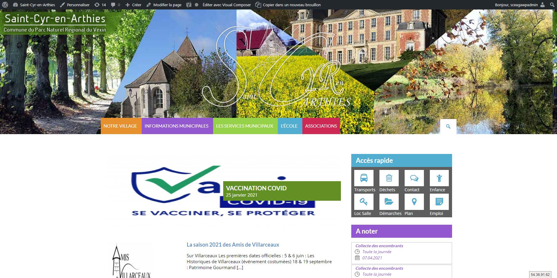 site de Saint-Cyr-en-Arthies