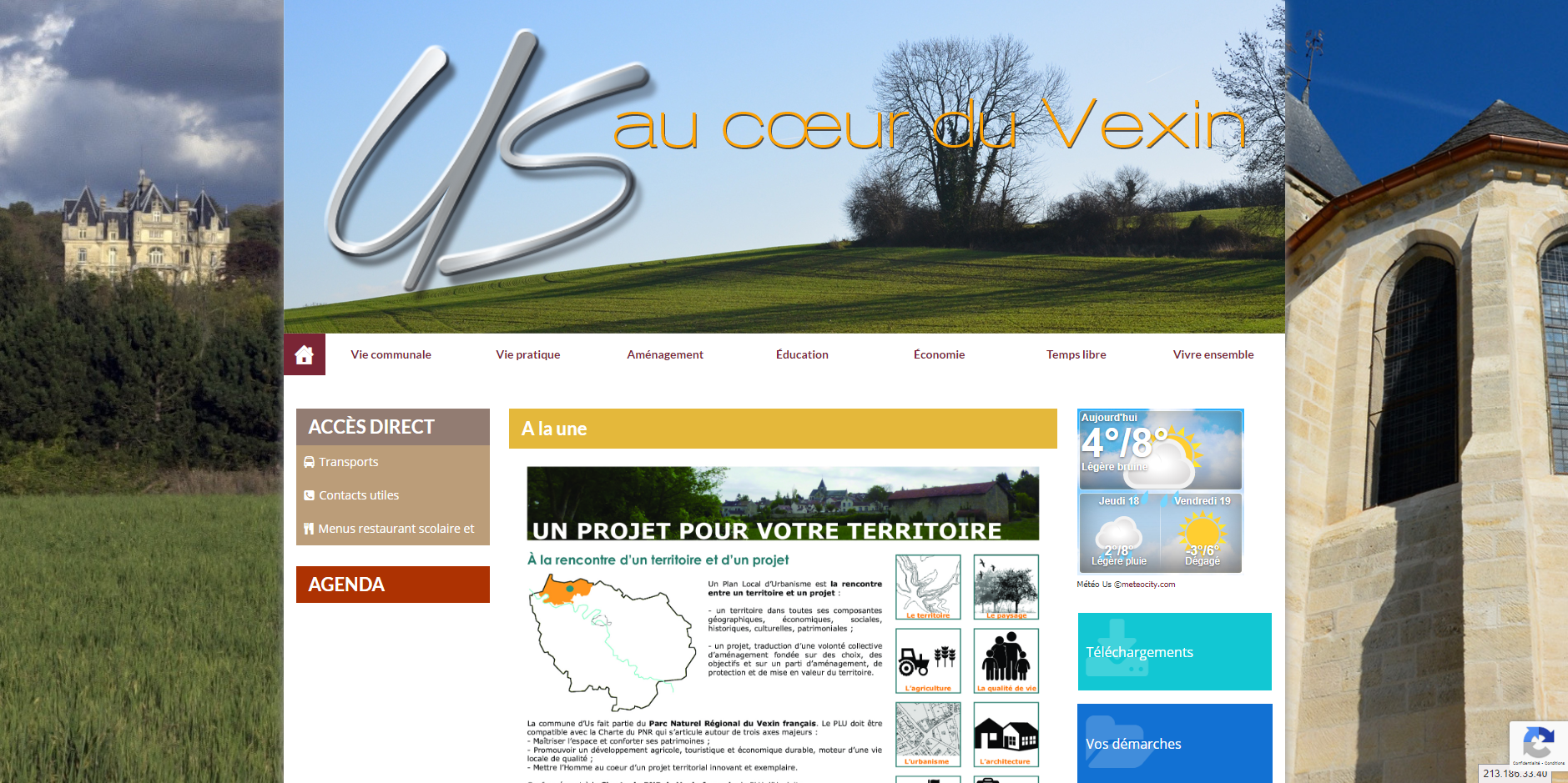 site de Us