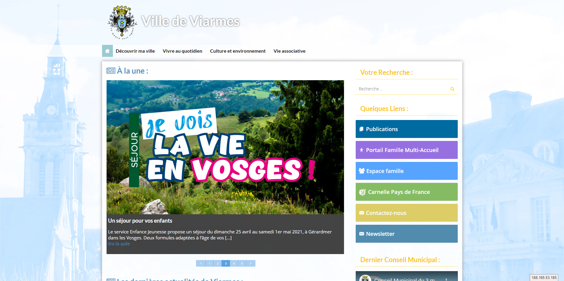 site de Viarmes