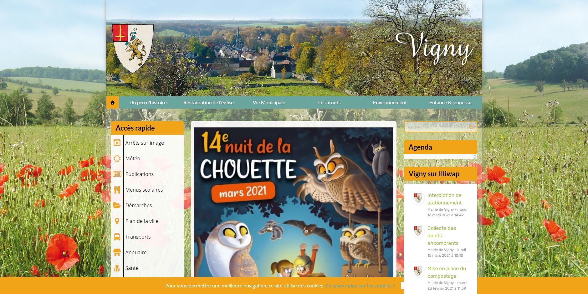 site de Vigny